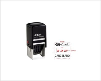 Sello Fechador Shiny S 530D 32 x 32 mm