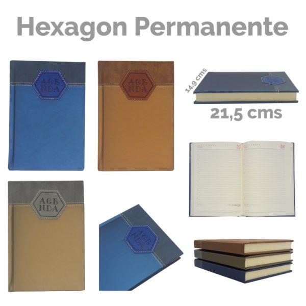 Agenda Hexagon Permanente 1906D