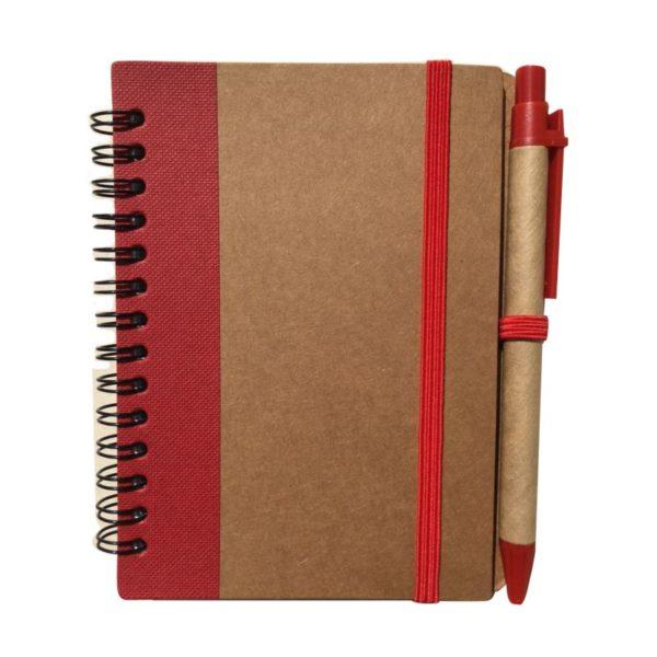 Libreta Ecologica Mini 901 rojo