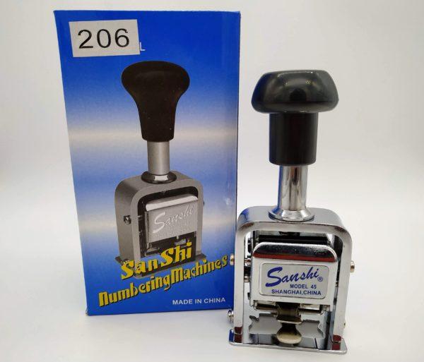 Numerador Automático Sanshi 206