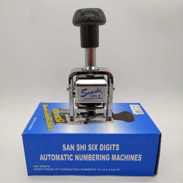 Numerador Automático Sanshi 206 Galeria