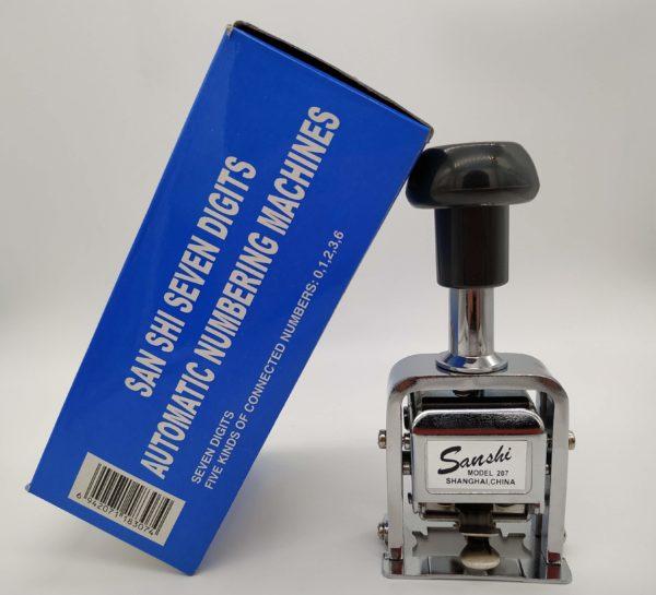 Numerador Automático Sanshi 207 Galeria 1