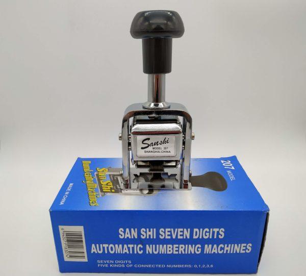 Numerador Automático Sanshi 207 Galeria