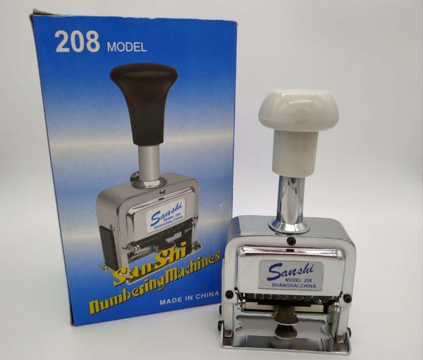 Numerador Automático Sanshi 208