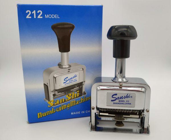 Numerador Automático Sanshi 212