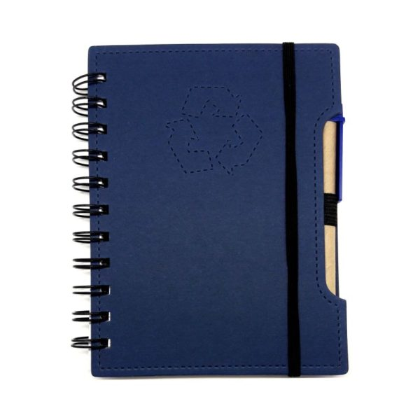 Libreta Ecologica Color A3 azul