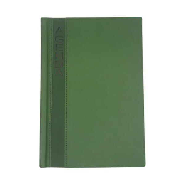 Agenda Permanente Ejecutiva AQ 2108D verde